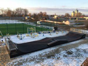 У Баришивці відкрито новий скейт-парк