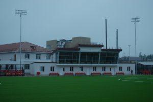 У Козині застелили футбольний газон як в Академії Зінадіна Зідана