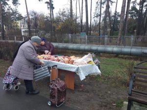 В Українці політик обурився фактом продажу товару без чеку