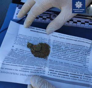У Борисполі спіймали наркомана, який без посвідчення керував автівкою