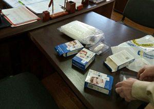 На Обухівщині до видачі необхідних під час карантину речей долучилися учасники АТО