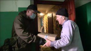 В Українці для допомоги пенсіонерам продуктами харчування створено волонтерський штаб